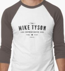 Vintage Mike Tyson Typography (Black Text) T-Shirt