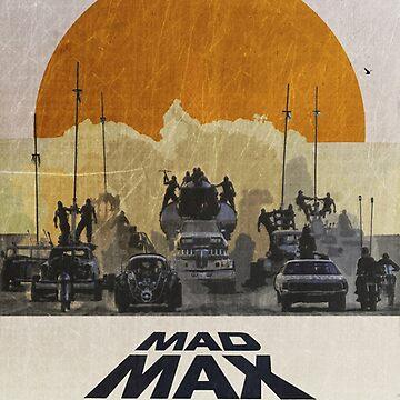 Madmax desert scene by polyart