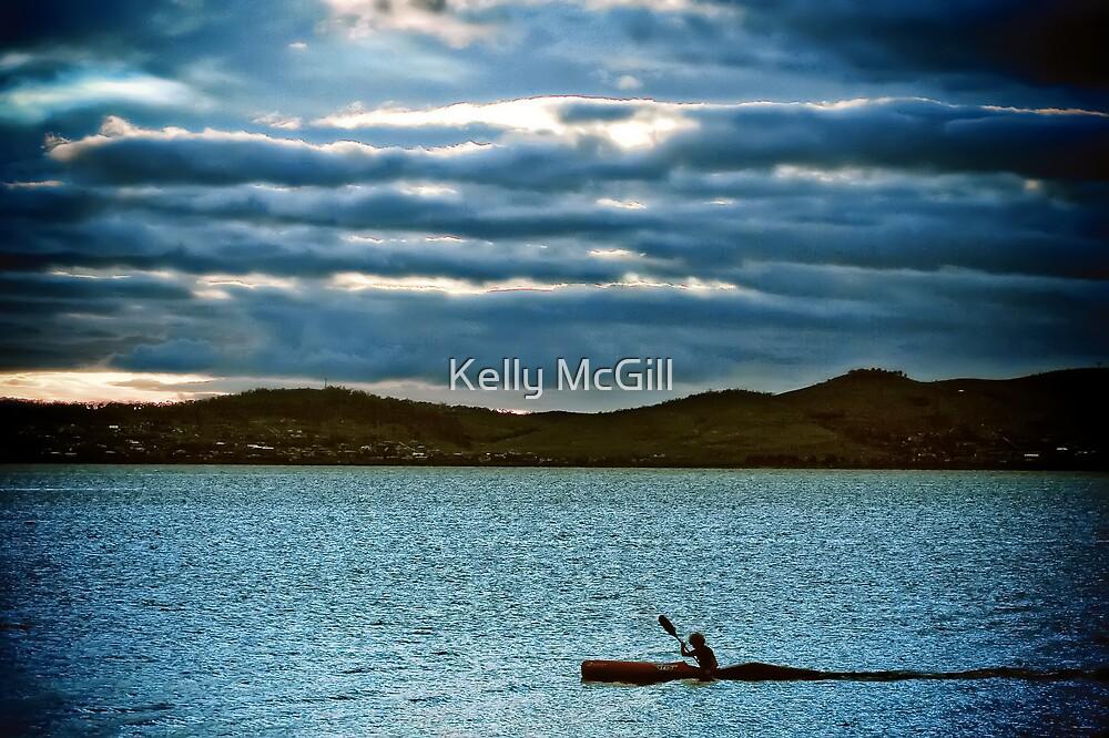 Derwent River Kayak by Kelly McGill