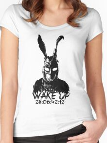 Wake Up Women's Fitted Scoop T-Shirt