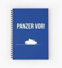 Panzer vor! Spiral Notebook