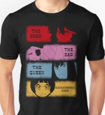The good, The Bad, The Queen & Mankanshoku Mako Unisex T-Shirt