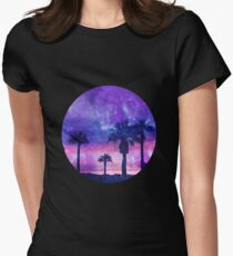 Mystic Tropical Beach Scenery T-Shirt