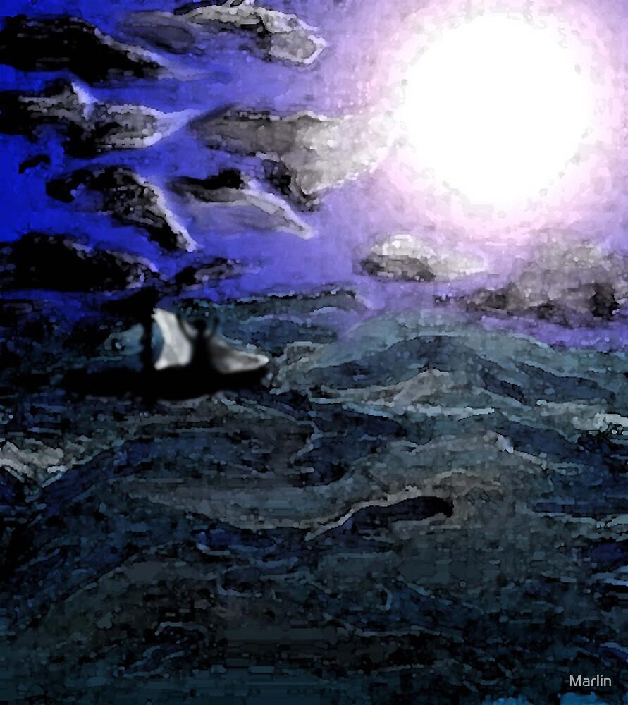 Moon Boat by Marlin