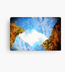 Sky Rocks! Canvas Print