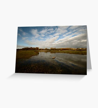 Grenham Common in Autumn Greeting Card