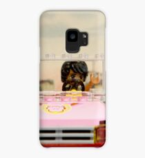 Legoman arrives to town streetscape Case/Skin for Samsung Galaxy