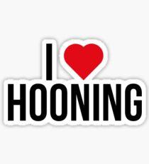 I <3 Hooning Sticker