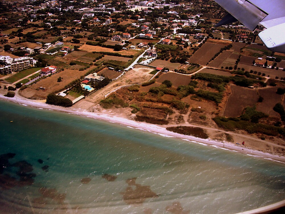 Aerial view by honey