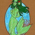 « Green Mermaid » par Naineuh