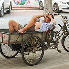 Nap, waiting for customers by cishvilli