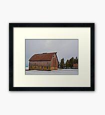 The Empty Barn Framed Print