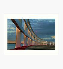 """""""The Promenade"""" Art Print"""