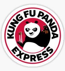 Kung Fu Panda Express Sticker