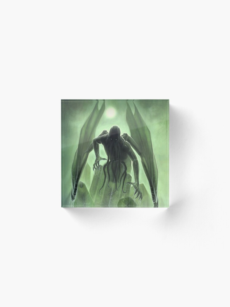 Alternate view of The Call of Cthulhu Acrylic Block