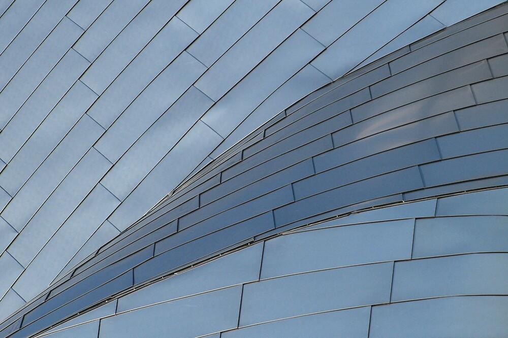 Pritzker Pavilion Detail 2 Chicago by fizzboompop