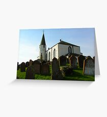 Scottish church Greeting Card