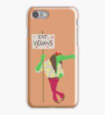 Eat Vegans iPhone Case/Skin