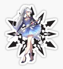 Weiss Schnee & Emblem pt. 3 Sticker