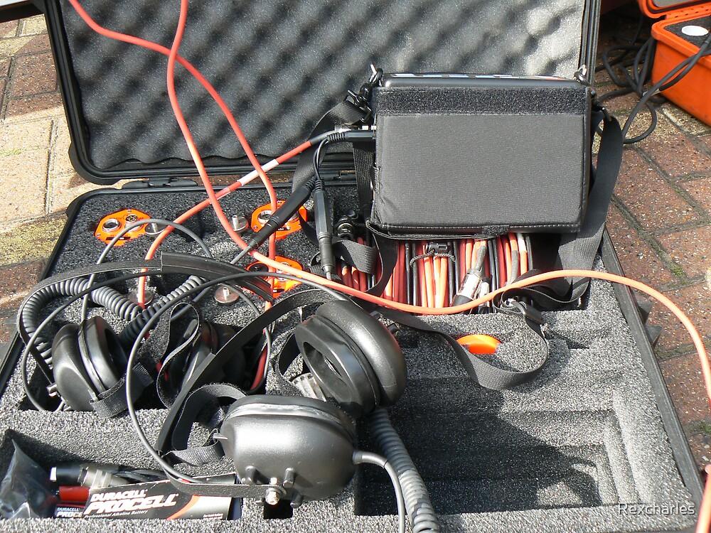 underground listening equipment by Rexcharles