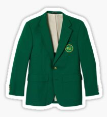 Masters Tournament Green Jacket Sticker