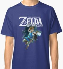 The Legend of Zelda: Breath of The Wild - Link Classic T-Shirt