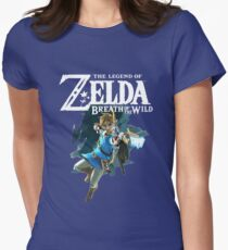 The Legend of Zelda: Breath of The Wild - Link Women's Fitted T-Shirt