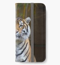Tiger iPhone Wallet/Case/Skin