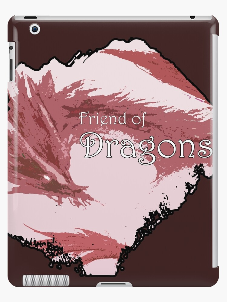 Friend of Dragons - Red by Mirrortail