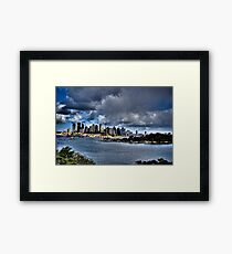 Sydney Harbour Framed Print