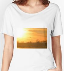 Towards Sunset Women's Relaxed Fit T-Shirt