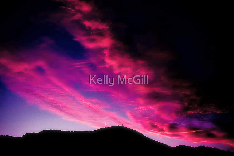 My kind of sunset by Kelly McGill