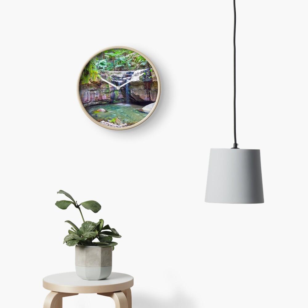 The Moss Gardens II Clock