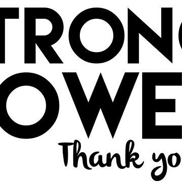 BTS Rap Monster strong power thank you by Churchdyke