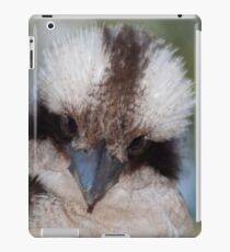 Who you look'in at? iPad Case/Skin