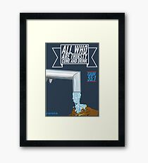 Come and Drink Framed Print
