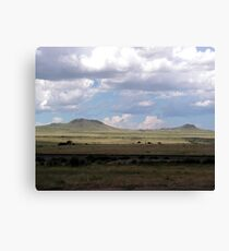 Clouds on the Plains Canvas Print