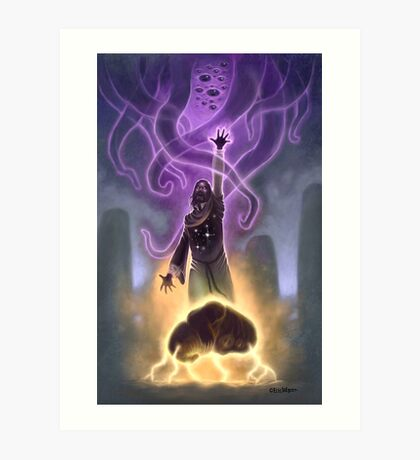 Ol' Wizard Whateley Art Print