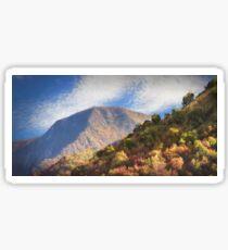 mountain nature Sticker