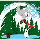 Sloth Holiday Cards by Ryleh-Mason