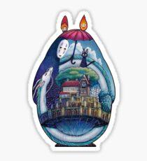 Miyazaki Totoro  Sticker