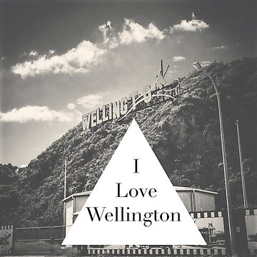 I Love Wellington, NZ by jnickel42
