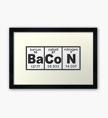 T Shirt Bacon Framed Print
