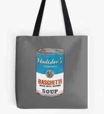 Vladislav's Basghetti, What We Do in the Shadows Tote Bag