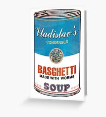 Vladislav's Basghetti, What We Do in the Shadows Greeting Card