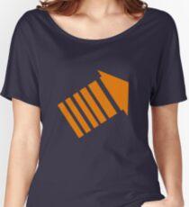 Legion Orange Arrow! Women's Relaxed Fit T-Shirt
