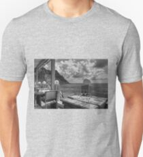 Dining in Paradise - B&W T-Shirt