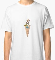 Butterfly Ice Cream   Classic T-Shirt