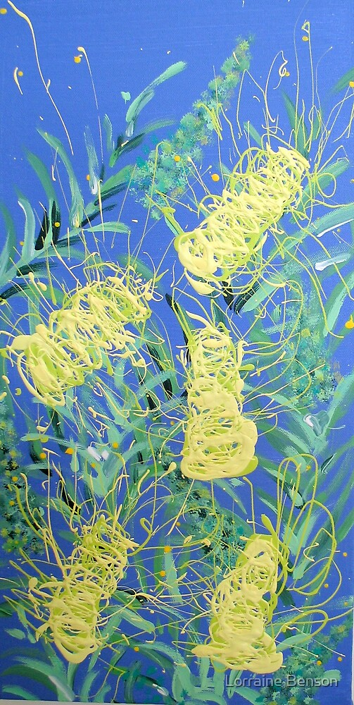 Moonglow Grevillea by Lorraine Benson