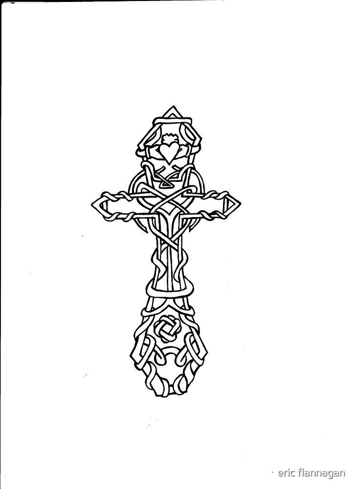 celtic cross by eric flannagan